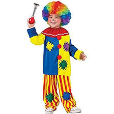 Big Baby Halloween Costume Amazon Fun Costumes Baby U0027s Big Clown Toddler