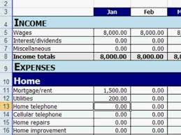 Free Excel Personal Budget Template Free Excel Personal Budget Template