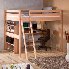 hochbett jugendzimmer hochbett edu aus buche massivholz 140x200 cm wohnen de