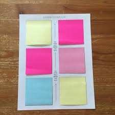 diy tutorial how to print inspirational quotes on post it