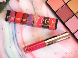 Brighter Pink Top 5 Pink Urban Decay Vice Liquid Lipsticks Lady Writes