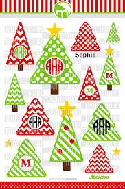monogram christmas christmas tree svg cut files monogram frames for vinyl