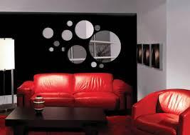 Mirror Sticker Wall Decor Ideas For Spacious Room Design - Mirror wall designs