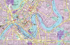 city map detailed city map of brisbane mapsof