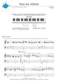 Stromae Les Memes - piano sheet music tous les mêmes stromae noviscore sheets