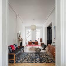 Brownstone Bedroom Furniture by Brooklyn Brownstone Scandinavian Living Room New York