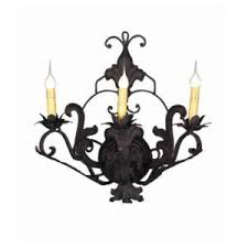 Iron Wall Sconce Wrought Iron Wall Sconces Handmade Fer Forge Wall Light Fixtures
