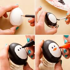 Decorating Easter Eggs With Nail Polish by Another Eggstremely Easy Way To Decorate Easter Eggs Penguins