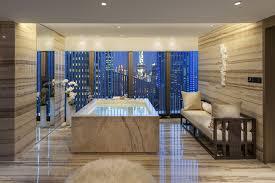 tub bathroom luxury interior style design wallpaper black jacuzzi