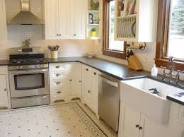 backsplash penny tile kitchen floor elegant bathroom white penny