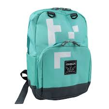 diamond minecraft minecraft childrens kids official diamond mini backpack one size