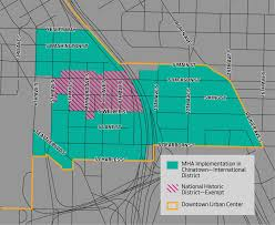 New Orleans District Map by Chinatown International District On Deck For Upzones Curbed Seattle