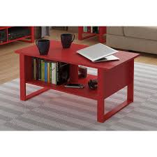 living room oval wood storage coffee table eye catching elevated