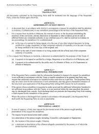 Sample Power Of Attorney Malaysia by Extradition Treaty Between Australia And Malaysia Michael Smith News