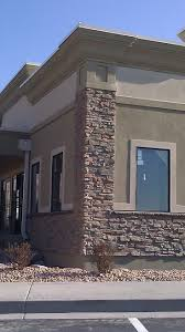 Home Exterior Design Brick And Stone Exterior Of Stone And Stucco Offices Buildings Stucco Tech All