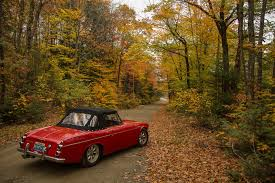 vintage datsun convertible owner tours usa on his datsun roadster road trip road trip