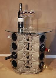 wine rack side table rover v8 engine wine rack side table rod pinterest