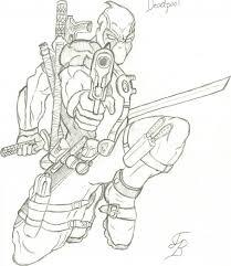 deadpool sketch by jbx ultimatum on deviantart
