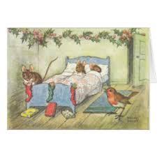 vintage christmas cards u0026 invitations zazzle co uk