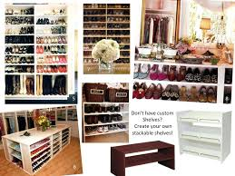 closet under bed closet shoe racks for closets white wooden painted bench shoe