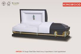 cheap coffins km1228 american style metal steel casket cheap coffins for sale
