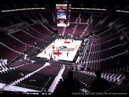 moda center section 308 portland trail blazers rateyourseats com