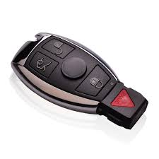 silver nec smart key bga remote mercedes benz 4 buttons
