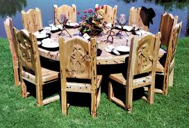 Western Dining Room Lodge Dining Room Furniture Home Design