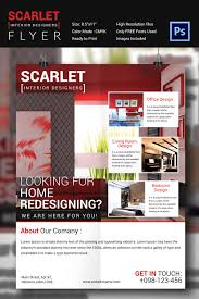 Free Website For Home Design by Interior Design Flyer Template 25 Free Psd Ai Vector Eps