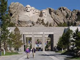 Mt Rushmore Map Mount Rushmore National Memorial In Usa