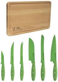 ginsu kitchen knives amazon com ginsu nuri series stainless steel 6 piece nonstick