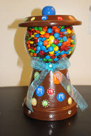 38 best diy gumball candy stand images on pinterest clay pot