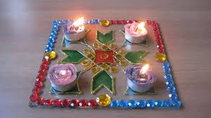 reader tutorial diy glass rangoli this diwali and sew we craft