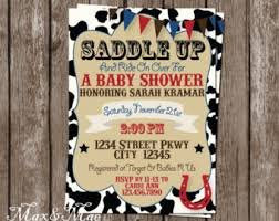 western baby shower baby shower themes etsy