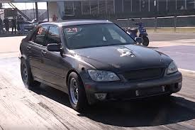 modified lexus is300 video one brutal twin turbo 5 3 swapped lexus is300