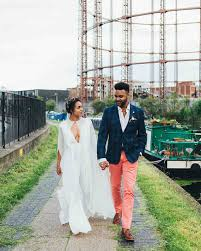 wedding jumpsuit brides who nailed the bridal jumpsuit look martha stewart