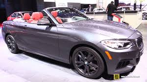 Bmw M235i Interior 2016 Bmw M235i Xdrive Cabriolet Exterior And Interior Walkaround