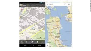 android maps maps is the iphone version actually better than android