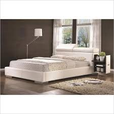 White Leather Bed Frame King Cheap White Leather Bed King Find White Leather Bed King Deals On
