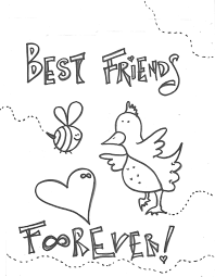 best friends forever coloring pages 28 images best friend