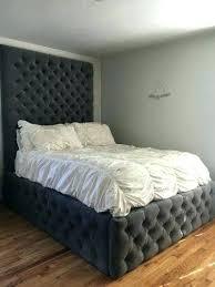 High Bed Frame High Bed Fram On High Bed Frame Xl King Size Platform