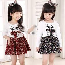 2017 2016 girls clothing dress princess dresses small flowers