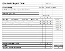report card template report card template release photo homeschool in excel sle 5