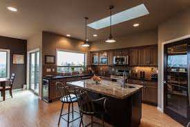 island kitchen bremerton inviting warm space custom homes contemporary kitchen