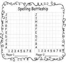 practice spelling words with spelling battleship word study