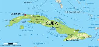 Map Of Caribbean Island by Cuba Is A Big Island Which Is Located Between The Caribbean Sea