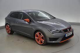 used 2015 seat leon 2 0 tsi cupra 280 3dr led headlights