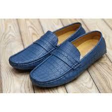 blue patterned shoes smart people blue patterned moccasin shoes for men