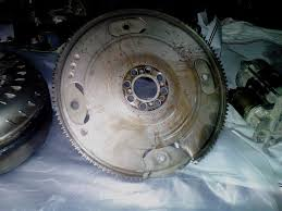 nissan titan catalytic converter pics of my damaged flywheel and starter nissan titan forum