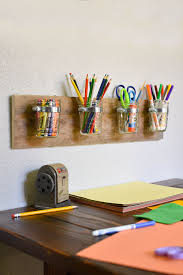 how to make a creative storage solution for kids diy mason jar how to make a creative storage solution for kids diy mason jar art supply organizer